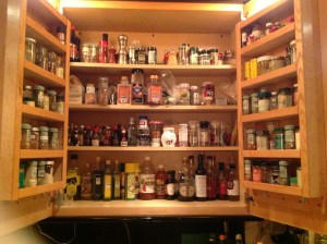 My herb and spice cabinet