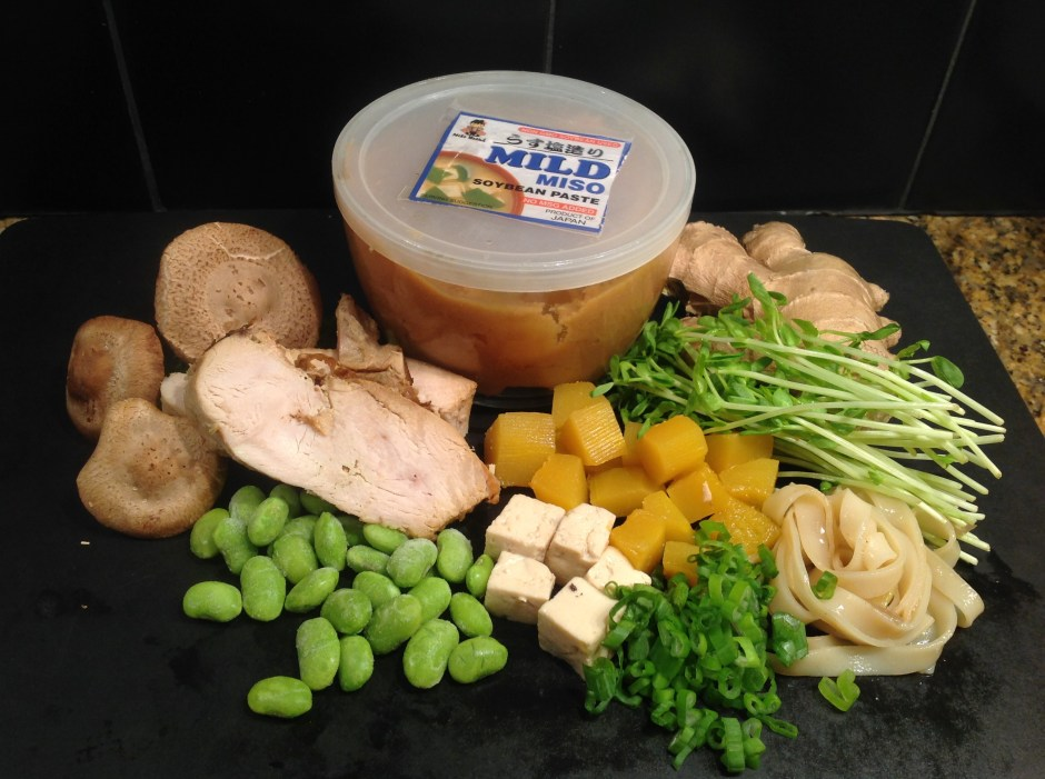 Turkey Miso Ingredients