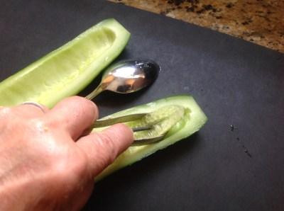 cucumber seeding