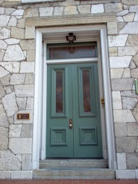 DIY Fall Spruce Up of Your Front Door with Color #DIY