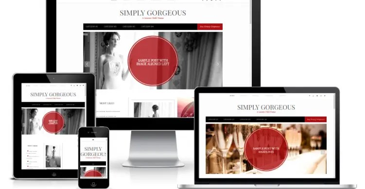 [Retired] Introducing Simply Gorgeous – A Free Feminine Child Theme