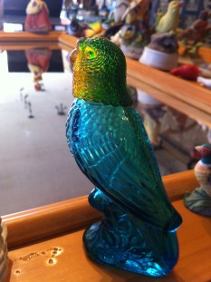 avon glass bird