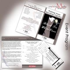 NFB of GA Event Program and Banquet Ticket
