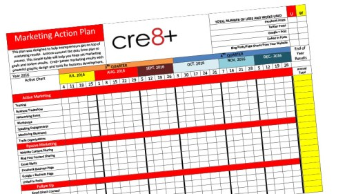 Get Your Marketing Action Plan Template Here