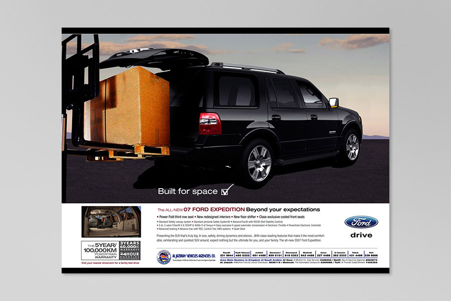 Ford Expedition Ad