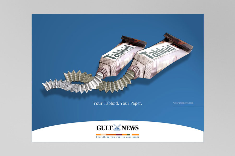 Gulf News Print Ad 10