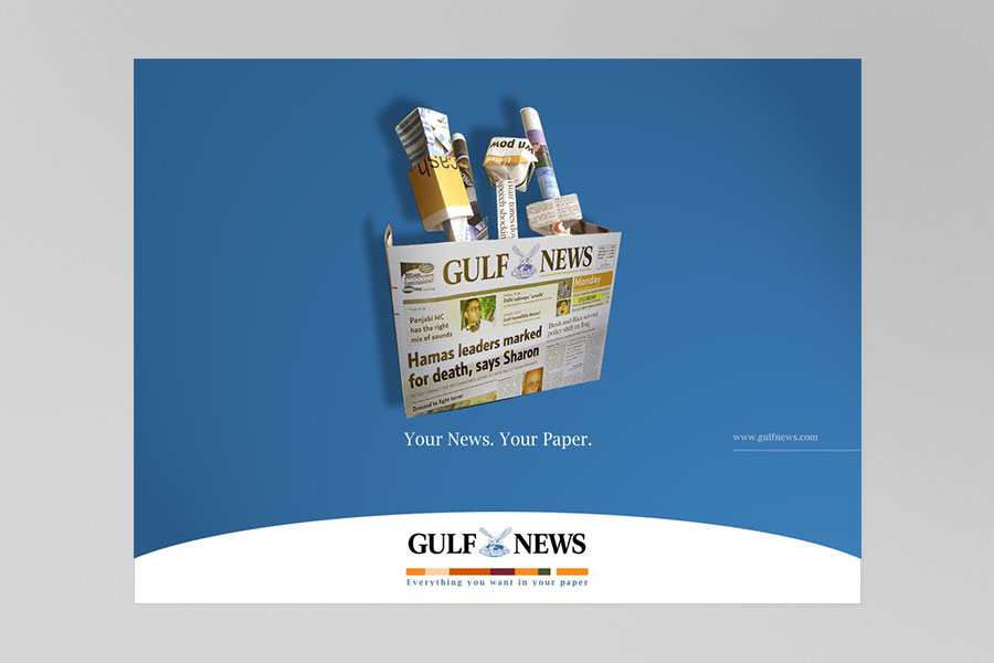 Gulf News Print Ad 7