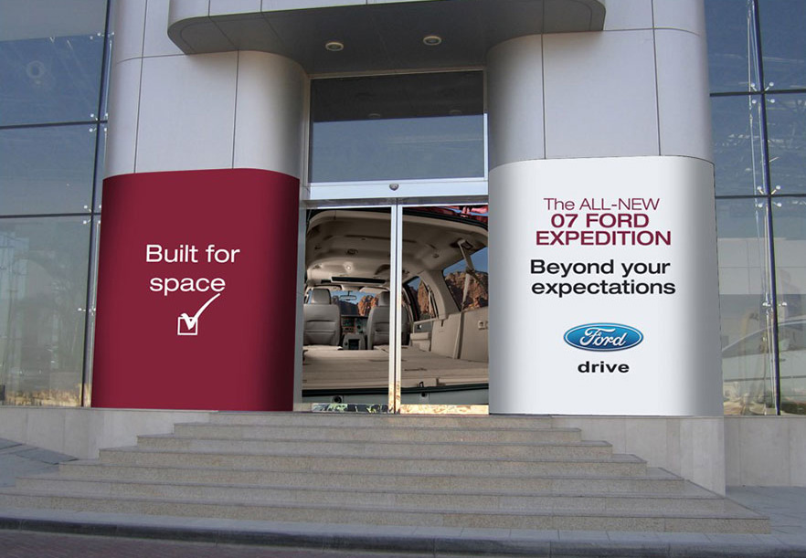 Ford Expedition Showroom Entrance