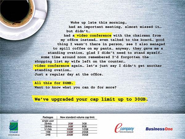 Etisalat BusinessOne Ad 03