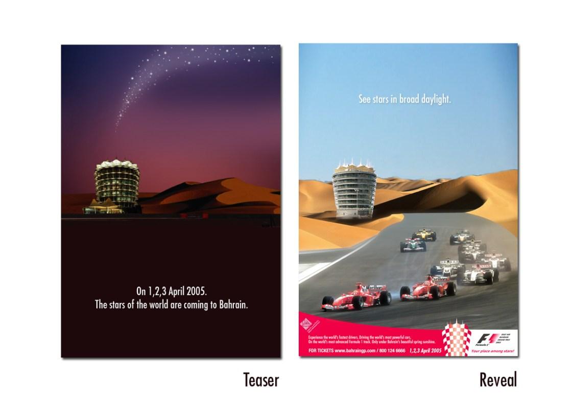F1 Press Ad
