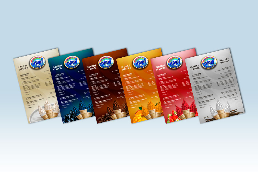 Wawi Ice Cream Flavours