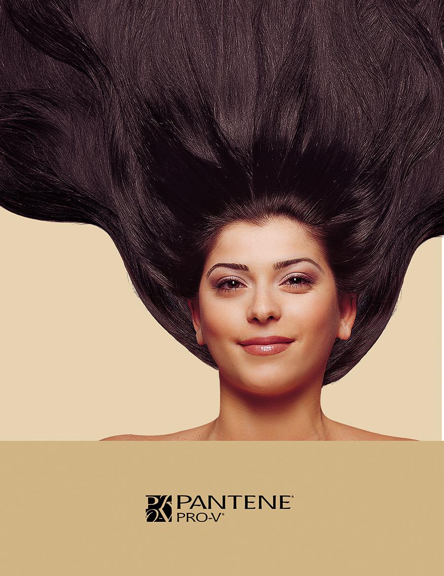 Pantene reveal print ad