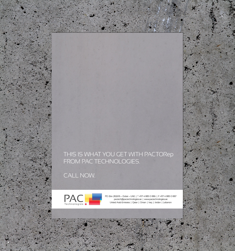 PAC Print Ad