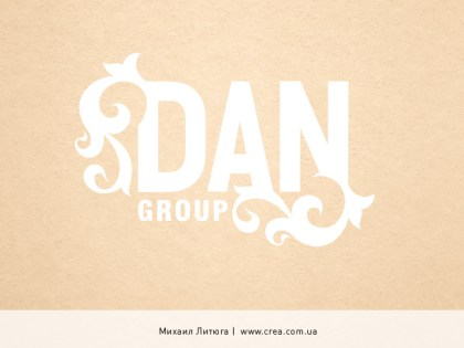 «Dan Group» logo design