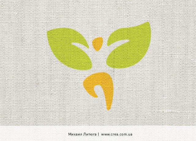 работка логотипа всеукраинского съезда экологов   ecology organisation logo design