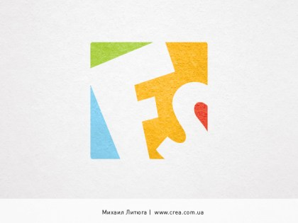 «Fullservice» logo design