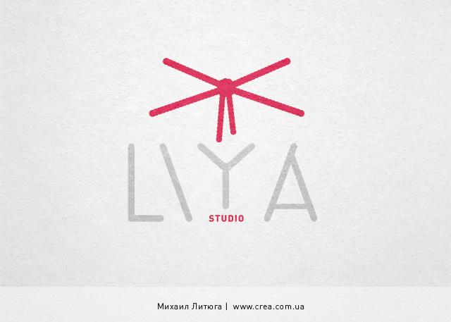 дизайн логотипа для киевской Bondage-фотостудии LIYA studio | Михаил Литюга, Киев, 2012