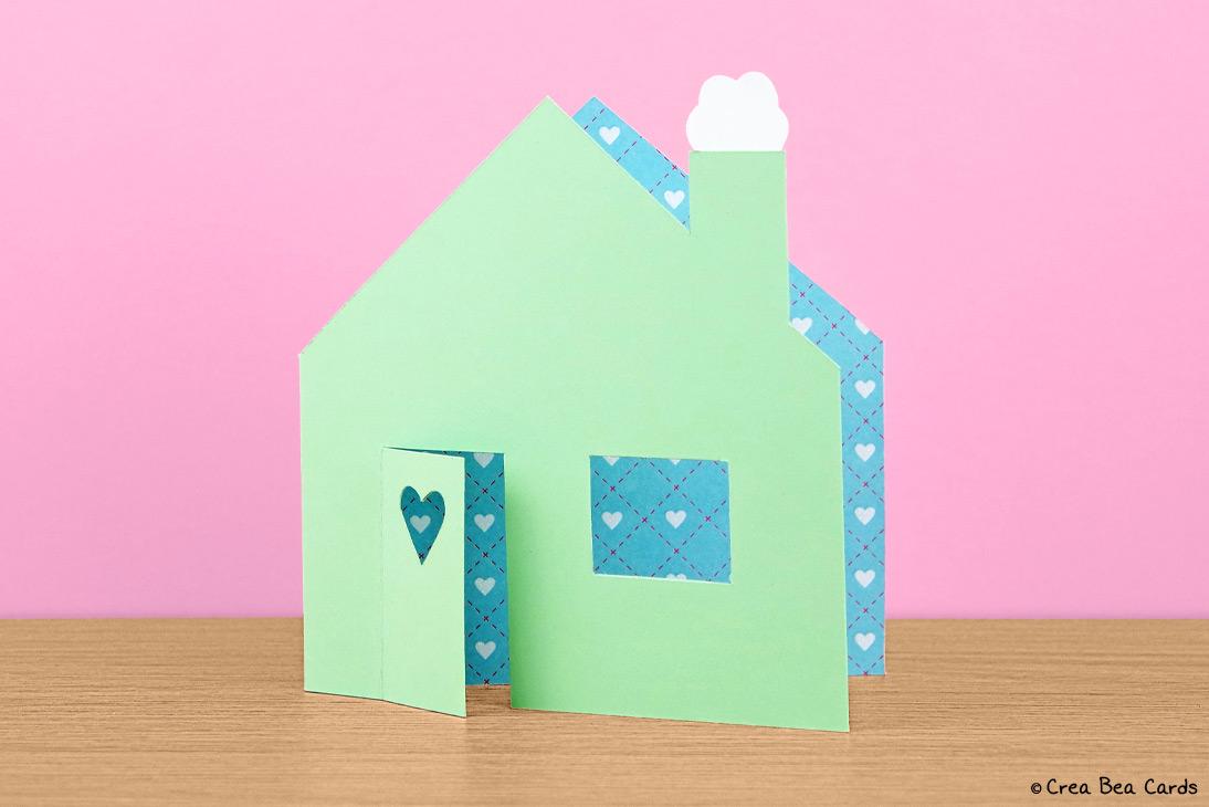 New Home Card Crea Bea Cards