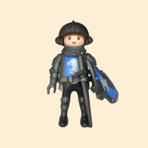 faucon bleu chevalier