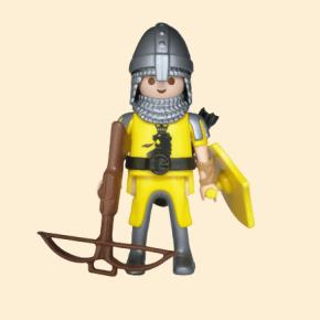 Chevalier du lion noir arbalète