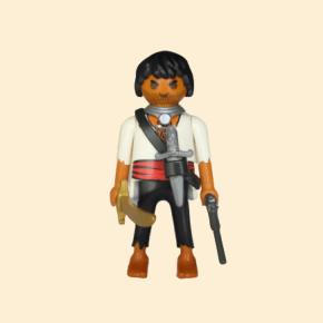 Pirate chemise blanche