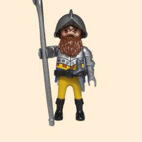 playmobil conquistador