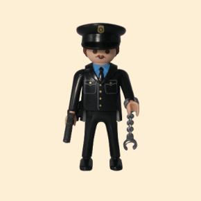 playmobil agent de police