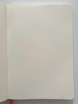 Goalbook - page pointillé
