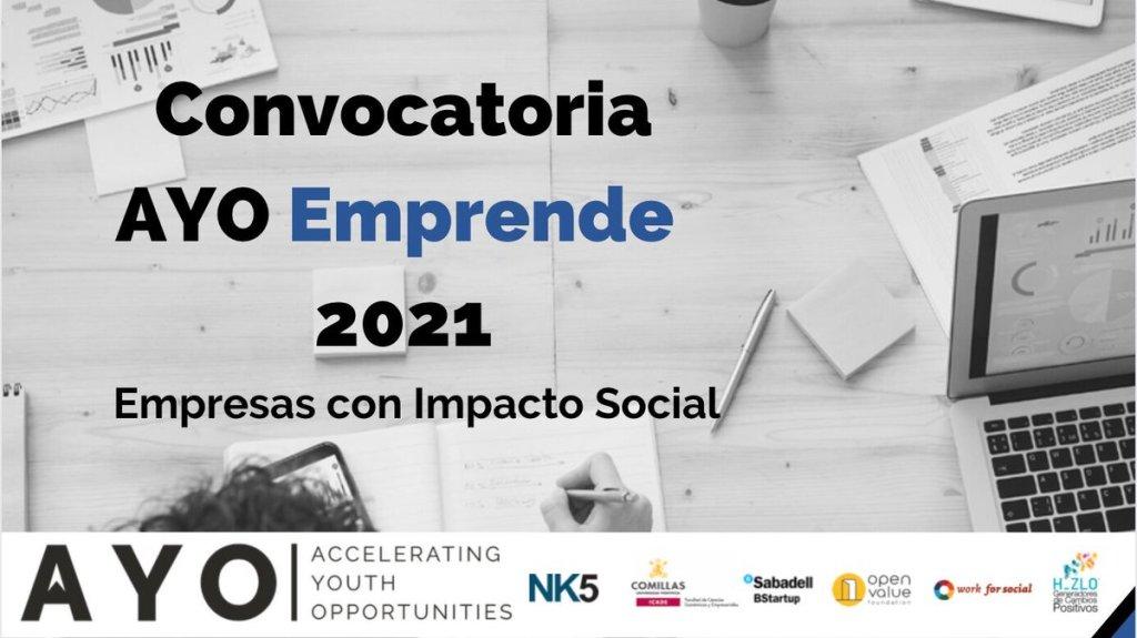 AYO Emprende es un programa para ayudar a las startups que fomentan la inclusión social.