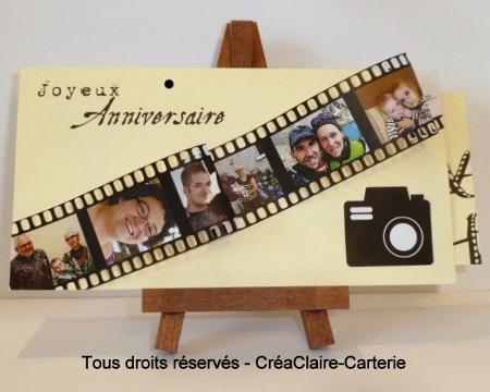 Anniversaire + bon cadeau - Photos en famille - ref : MOD-011