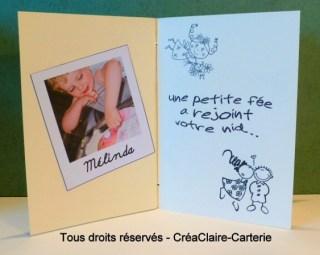 Félicitations mariage carnet personnalisé texte photo- page1