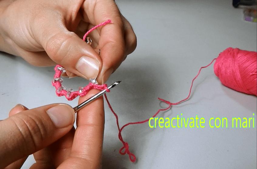 como hacer pendientes de ganchillo