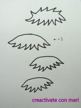 patrón como hacer pelo corto fofuchas fofucho