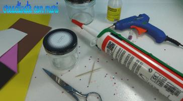 cómo decorar tarros