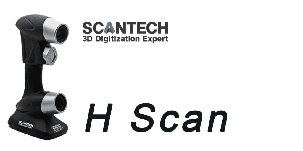 Scanner 3D Scantech H Scan