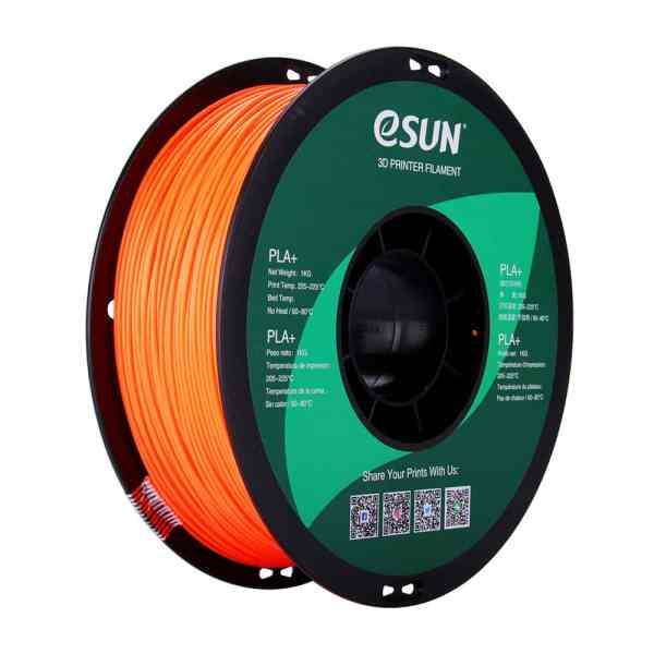filament PLA esun orange