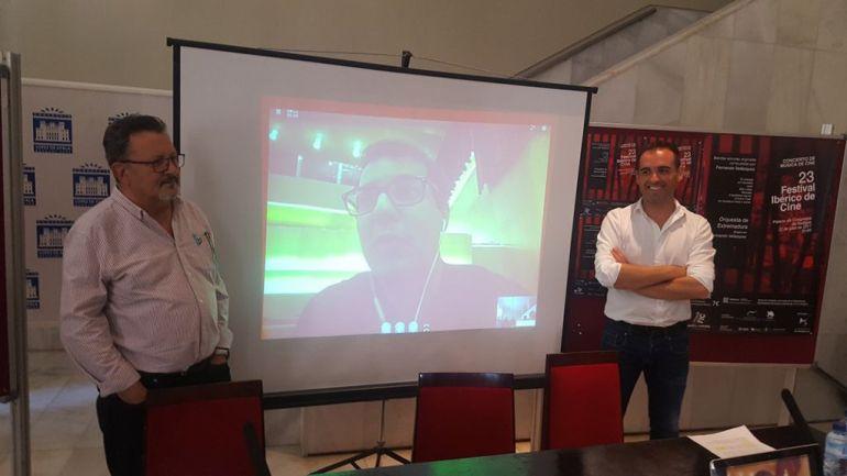 Fernando Velázquez por Skype