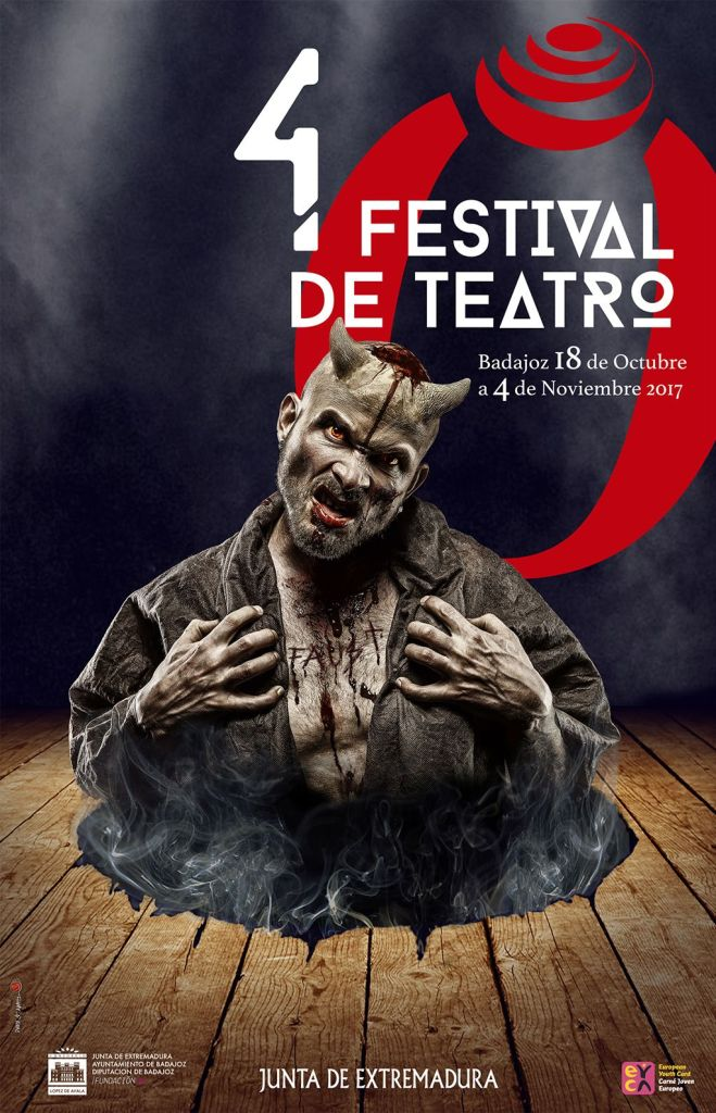 Cartel 40 Festival Teatro Badajoz