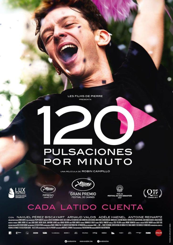 cartel película '120 pulsaciones por minuto'