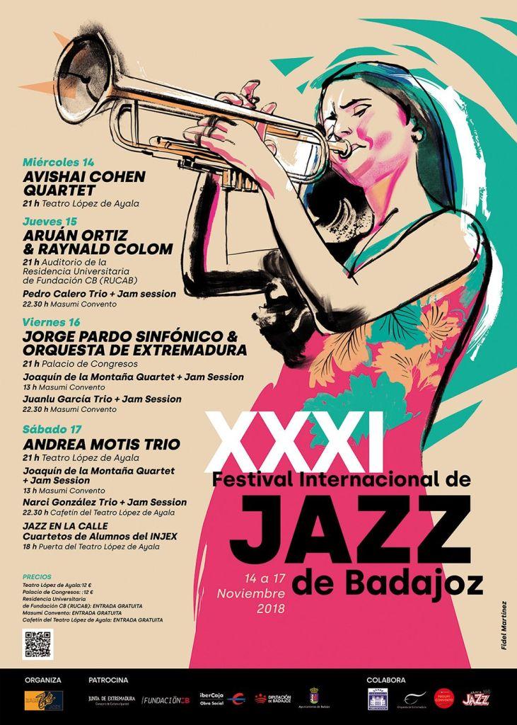 Cartel Festival Jazz Badajoz