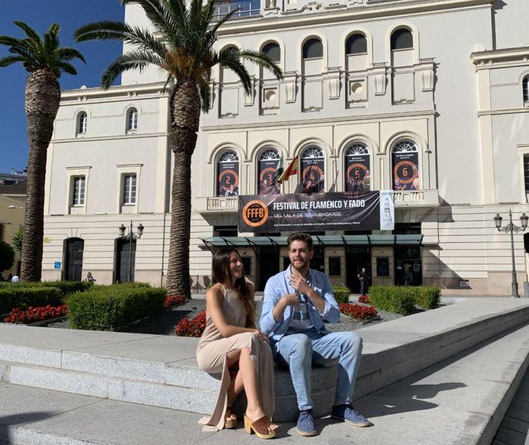 Celia Romero y Andrés Barrios
