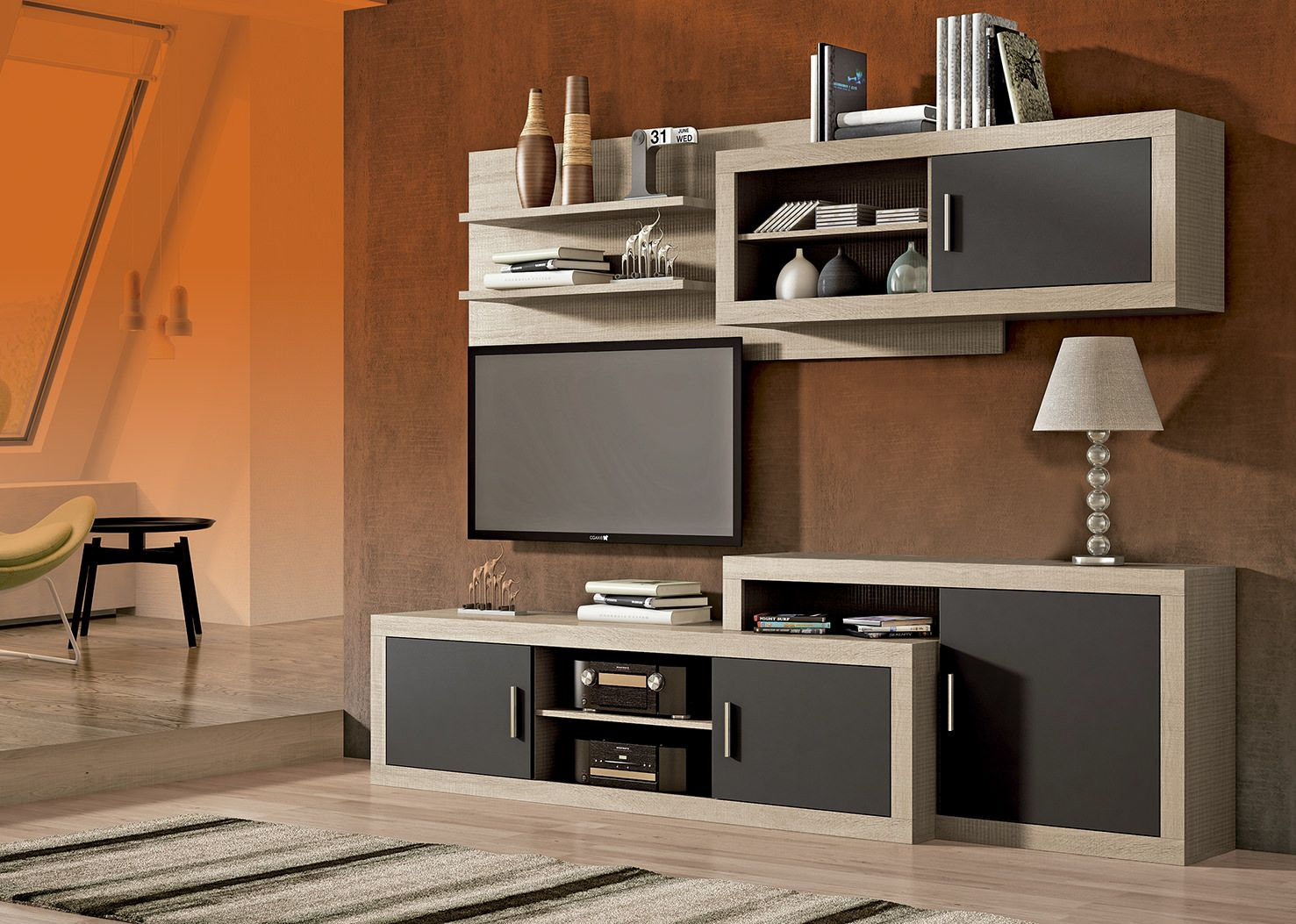 Low Cost Muebles Mueble De Comedor Low Cost Laraga 03 En Color Cambrian Y