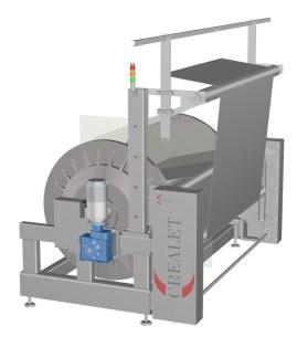 Ab- und Aufwickeln - KB-Gestell für Kettwirkmaschinen