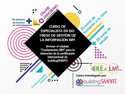 Especialista ISO 19650 + Fundamentos BIM (buildingSMART)