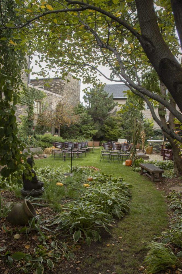 Cream City's Urban Garden Outdoor Weddings