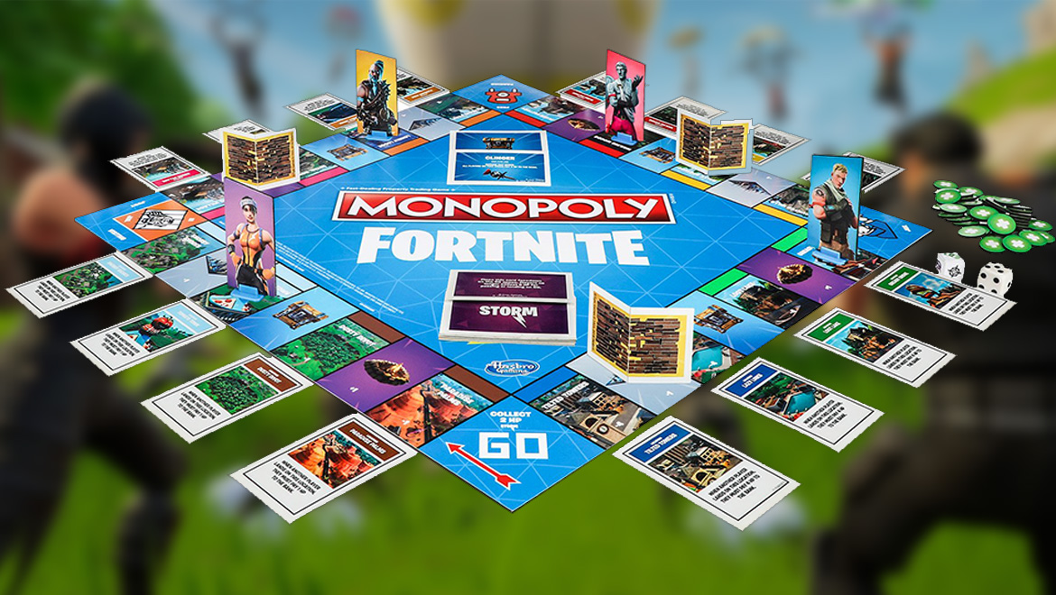 Fortnite Is Now A Board Game A Very Different Kind Of Monopoly CREAM MAGAZINE