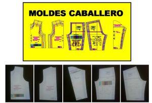 Sistema de diseño de ropa de hombre con moldes o plantillas base avanzadas