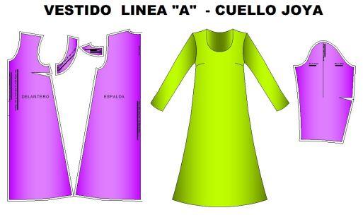Moldes_Vestido_linea_A