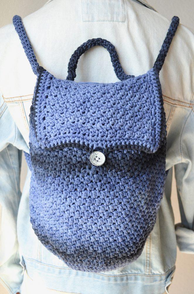 Bijou Backpack Crochet Pattern Crochet