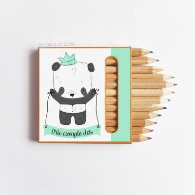 cumple-caja-lapices-panda-mint